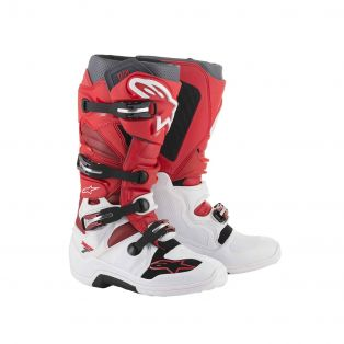 Tech 7 Boots White/Red