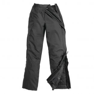 Padded Diluvio Trousers Black