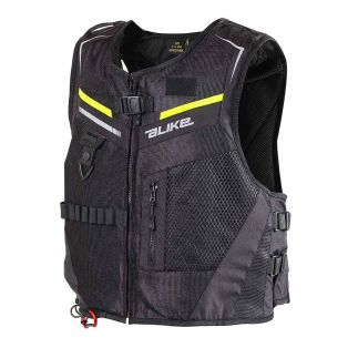 Full Link DPS Waistcoat Black/Fluo Yellow