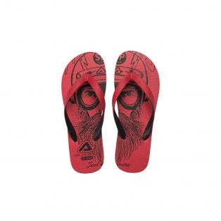 SP Club Flip Flops Red