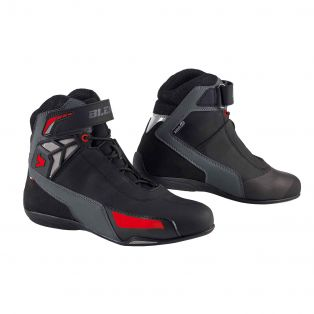 Motorcycle shoes Drift Aqvadry Black/Red/Anthracite