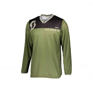 350 dirt offroad motorcycle jersey Green tan