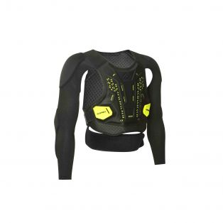 PLASMA BODY ARMOUR LEVEL 2 Black/Fluo Yellow
