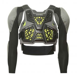 SPECKTRUM KID BODY ARMOUR Level 2 Black/Fluo Yellow