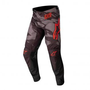 Racer Tactical Pants Black/Gray Camo/Red Fluo