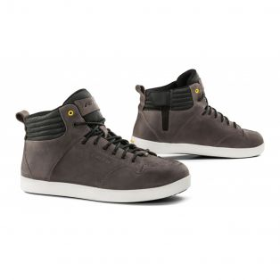 Tensho WP leather motorcycle shoes Gray