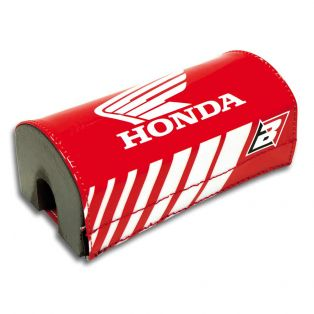 Honda Tapered Bar Pad Red