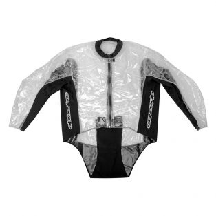 Racing Rain Jacket Clear/Black