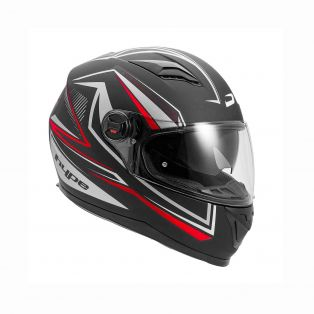 HP5.21 Helmet Arrow Black/Grey/Red