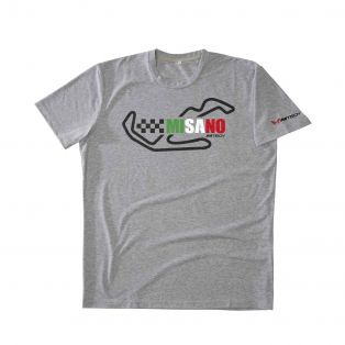 Temples Of Speed T-shirt Misano Grey