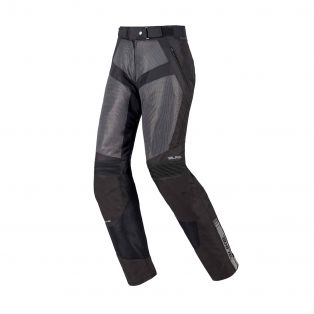 Lady Motorcycle summer trousers Air Trail Aqvadry Black/Anthracite/Black