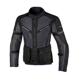 Motorcycle Jacket DISCOVER AIR AQVADRY LADY Black/Anthracite/Black