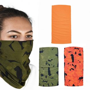 Comfy 3 Pack Bandana Havoc Orange Camuflage