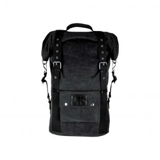 Heritage 30 Wax Cotton Rollbags Vintage Black