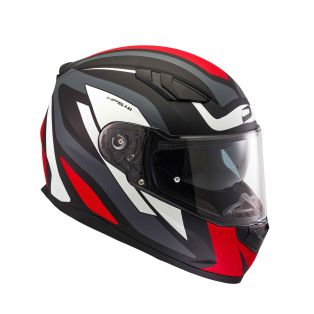 HP 5.41 helmet Fluid Black/White/Red
