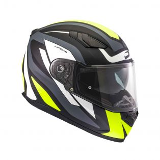 HP 5.41 helmet Fluid Black/White/Fluo Yellow