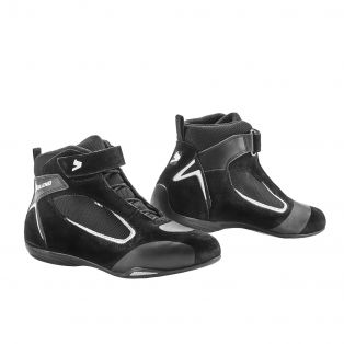 Ventex Air Motorcycle Shoes Black/White