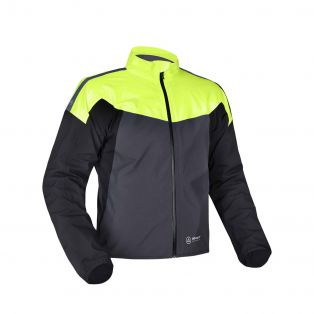 Rainseal Pro Jacket Black/Grey/Fluo Yellow