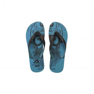 SP Club Flip Flops Light Blue